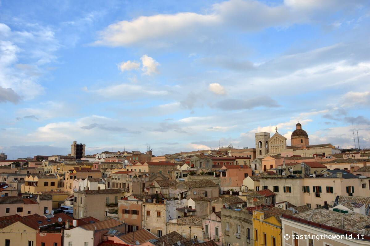 Cagliari dalla Torre dell'Elefante