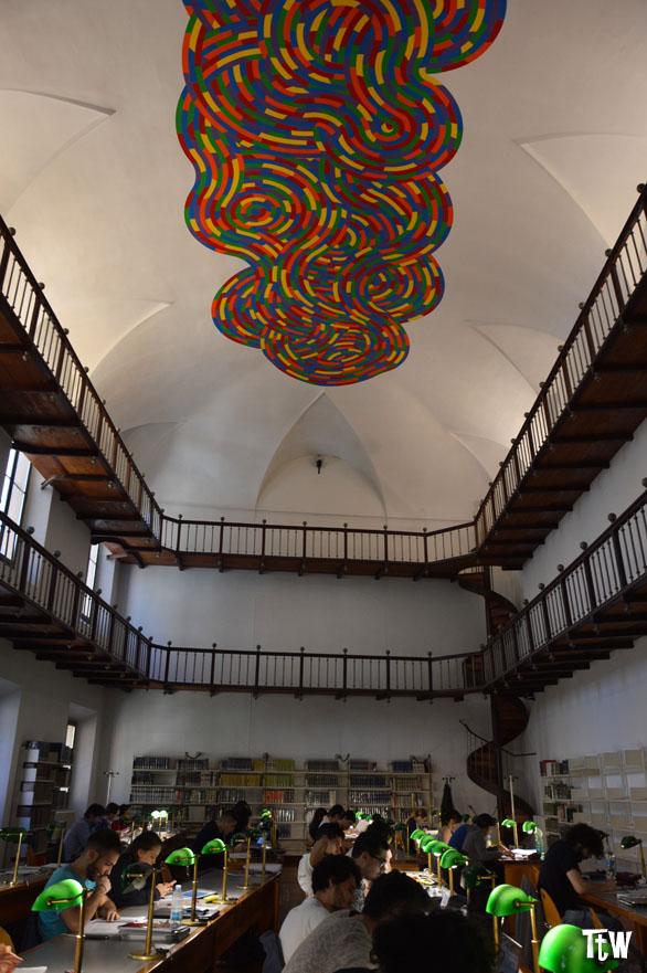 Murales Sol Lewitt, Biblioteca Panizzi (Reggio Emilia)