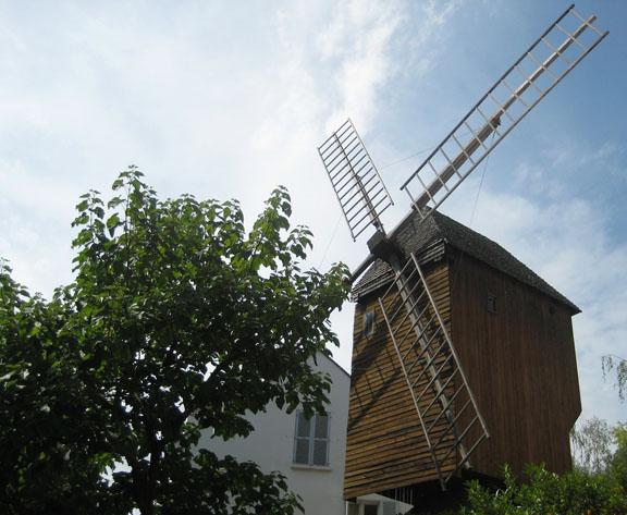 Le Moulin de la Galette, Montmartre (Parigi)