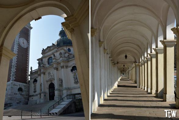 Monte Berico (Vicenza): il Santuario e i portici