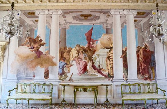 Villa Valmarana (sala Ifigenia), Vicenza