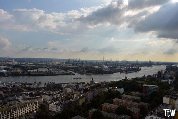 Amburgo dall'alto