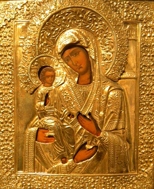Icona Gran Madre delle Tre Mani (Savona, Pinacoteca Civica)