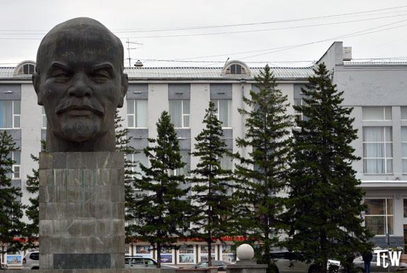 La testa di Lenin più grande del mondo a Ulan-Udė