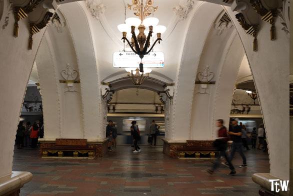 Fermata Arbatskaja Metropolitana di Mosca
