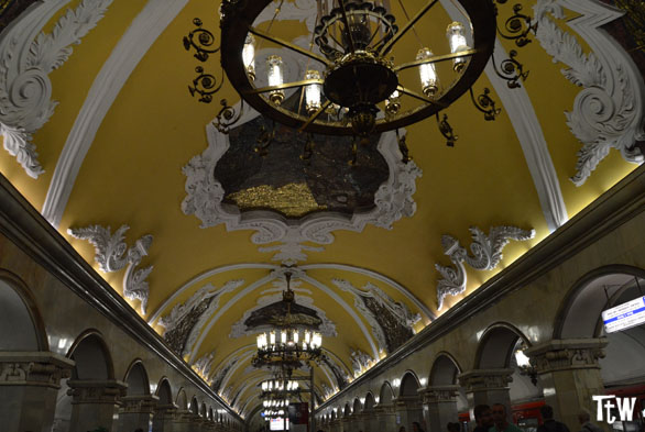 Fermata Komsomol'skaja Metropolitana di Mosca