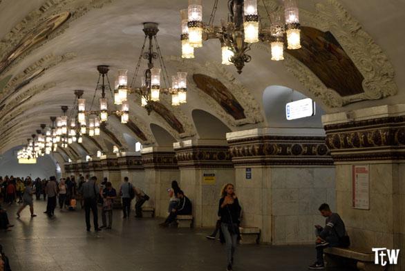 Metropolitana di Mosca: le stazioni più belle