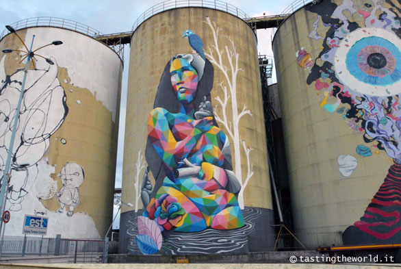 Silos decorati - Catania