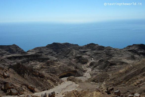 La nuova strada costiera a sud, Oman