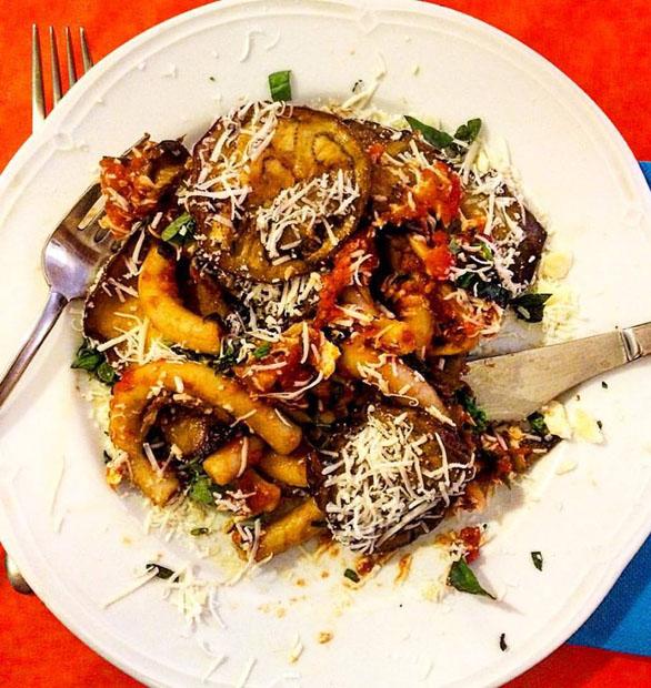 Pasta alla Norma (Catania)