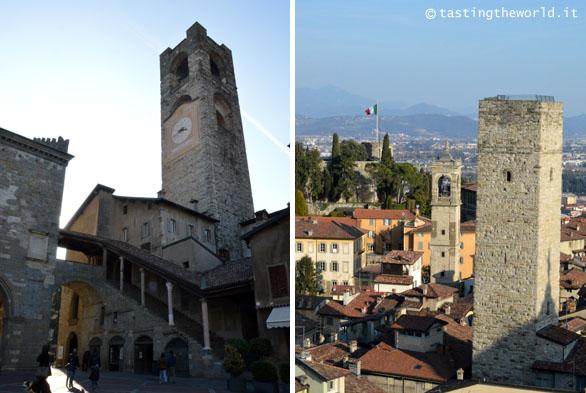 Torri di Bergamo: Torre Civica, Torre del Gombito