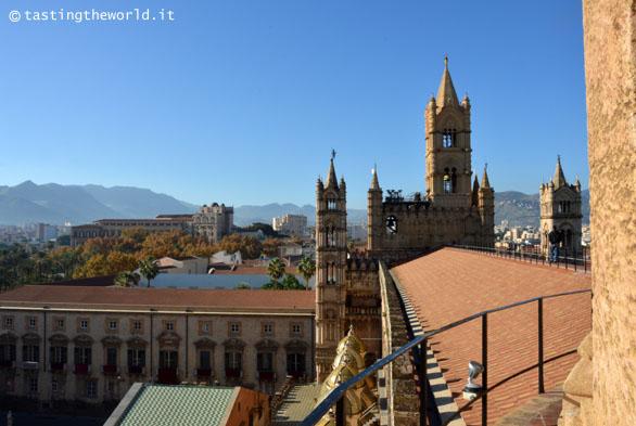Dal tetto della Cattedrale di Palermo