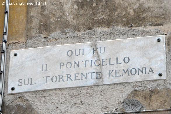 Ponticello fiume Kemonia, Palermo
