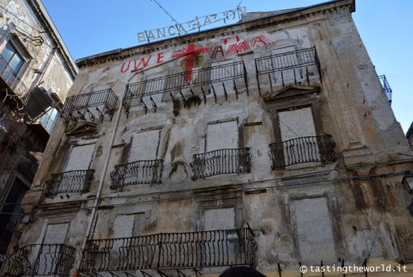 Uwe Jaentsch, Piazza Garraffello, Palermo