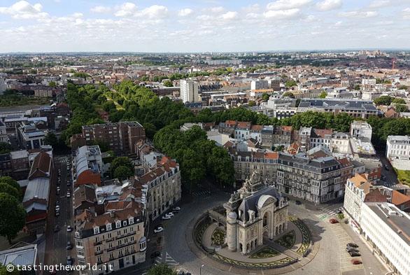 Lille dall'alto dell'Hôtel de Ville