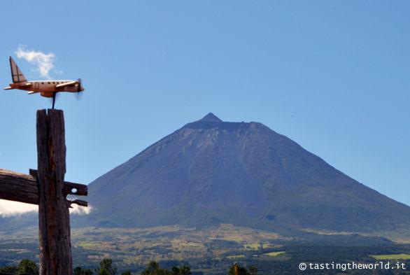 Il vulcano Pico, sull'isola di Pico (Azzorre)
