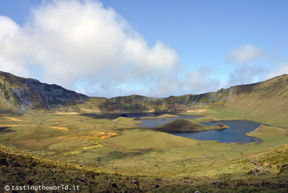 Corvo, Azzorre - l'interno della caldera