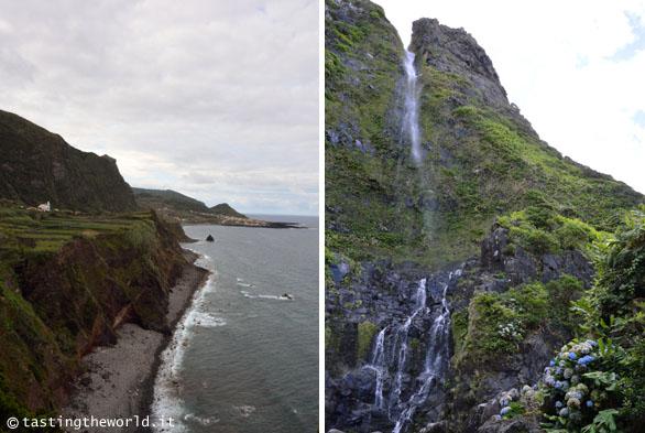 Flores, Azzorre - Nel tragitto tra Ponta Delgada e Fajã Grande