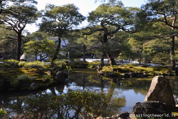 I giardini del tempio Ginkaku-ji, Kyoto