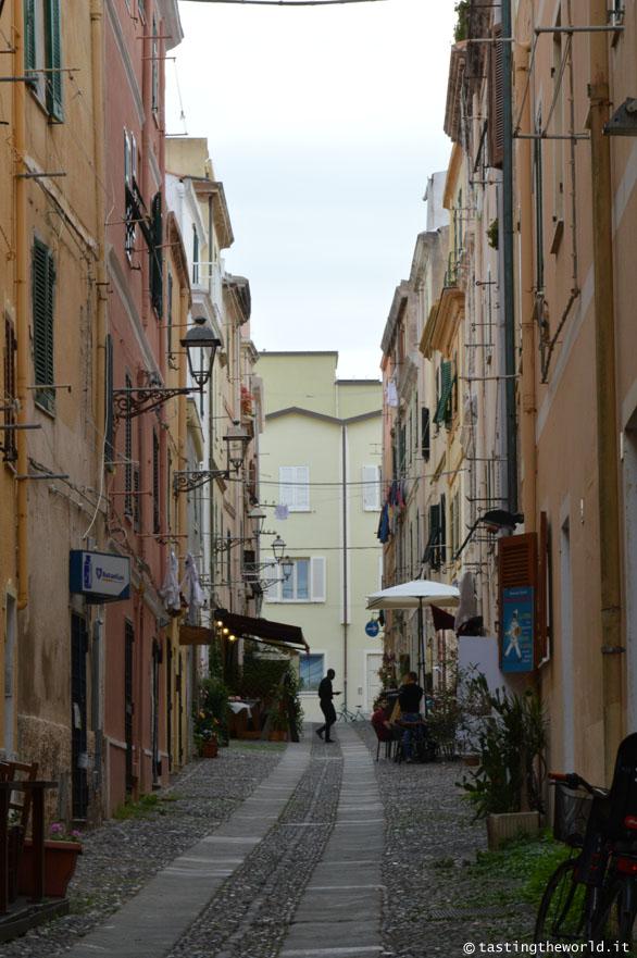 Un vicolo di Alghero