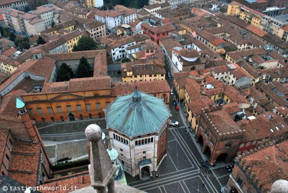 Cremona dall'alto del Torrazzo