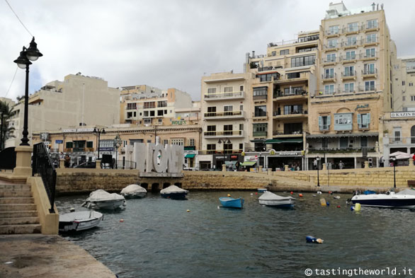Love Bridge, Spinola Bay @ St Julian's (Malta)