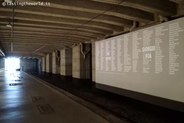 Memoriale Shoah Milano: il Muro dei Nomi
