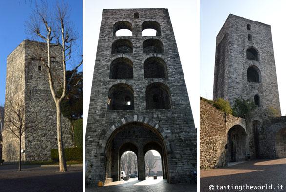 Porte delle mura di Como