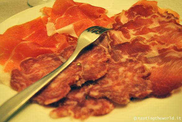 Salame Cremona e altri affettati