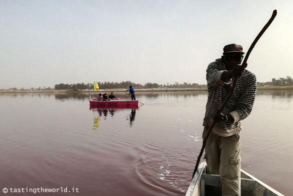 Senegal, lago rosa