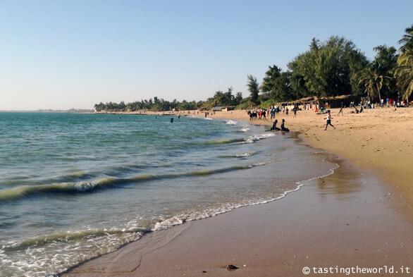 La spiaggia di Mbour, Senegal