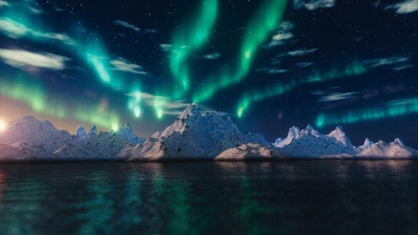 Aurora boreale low cost