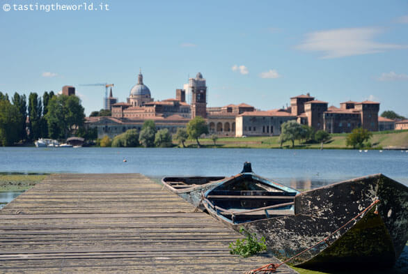 Lo skyline di Mantova dal punto panoramico