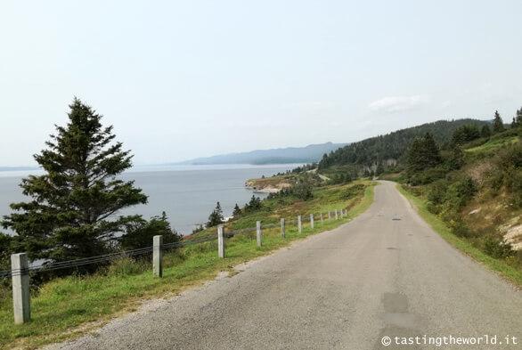 La strada costiera in Gaspésie