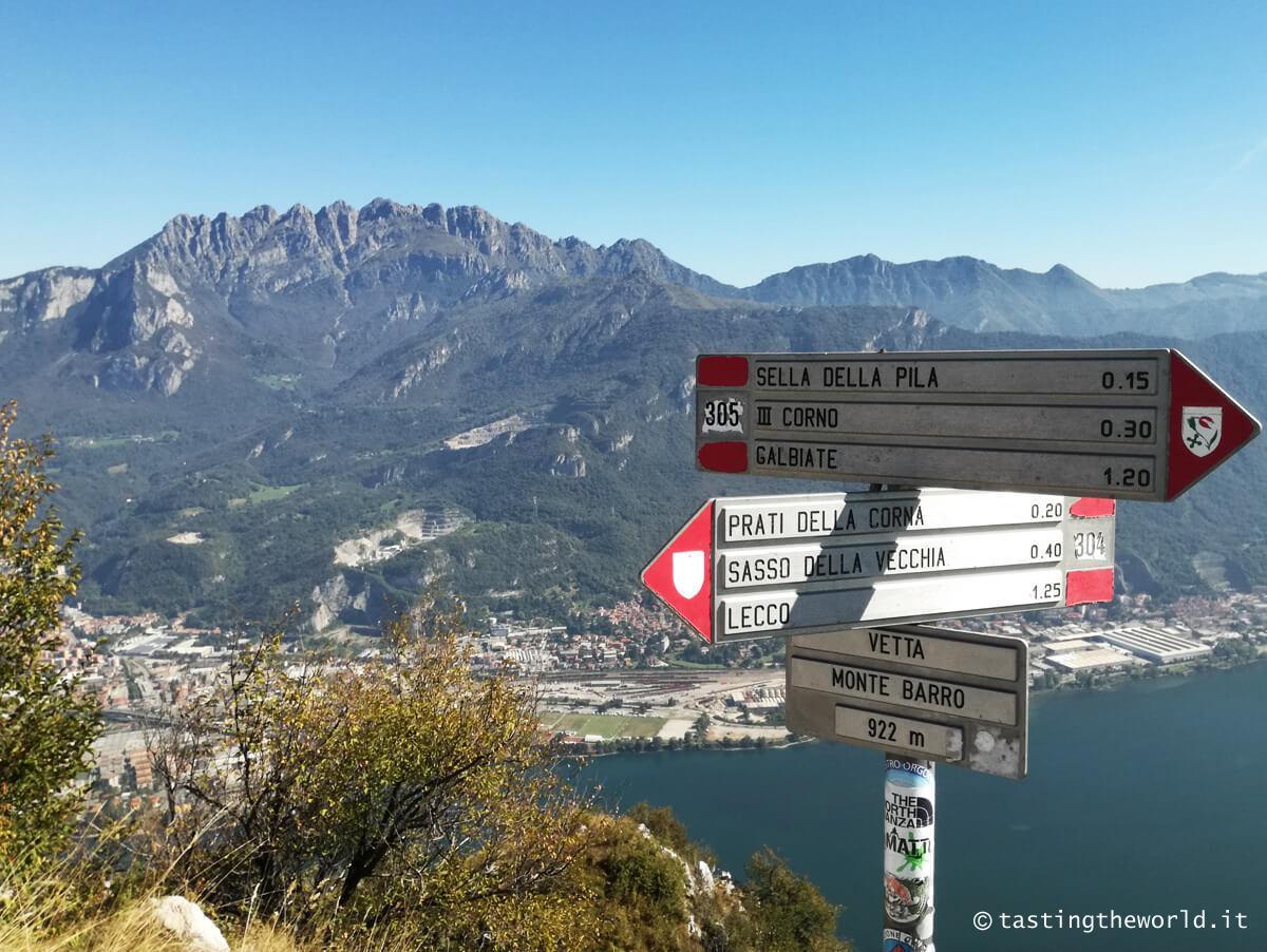 Vista del Resegone dal Monte Barro (Lecco)
