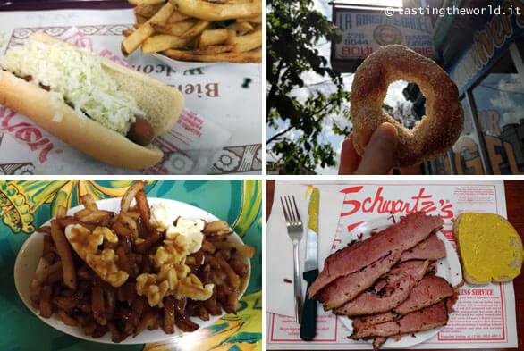Cosa mangiare a Montréal