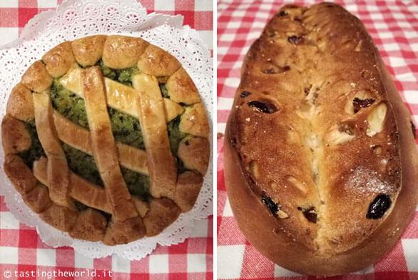 I dolci tipici di Lucca: torta di verdure e buccellato