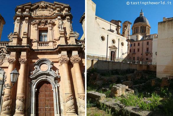 Il centro storico di Marsala