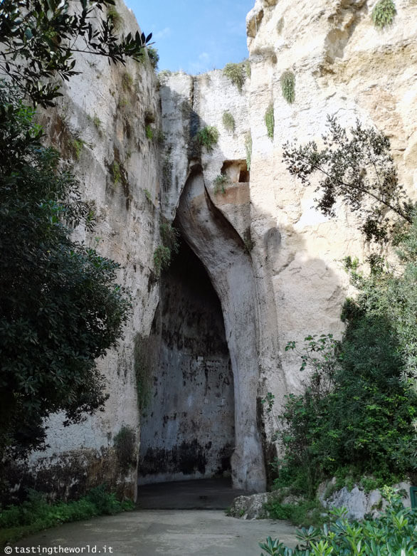 Orecchio di Dionisio, Siracusa