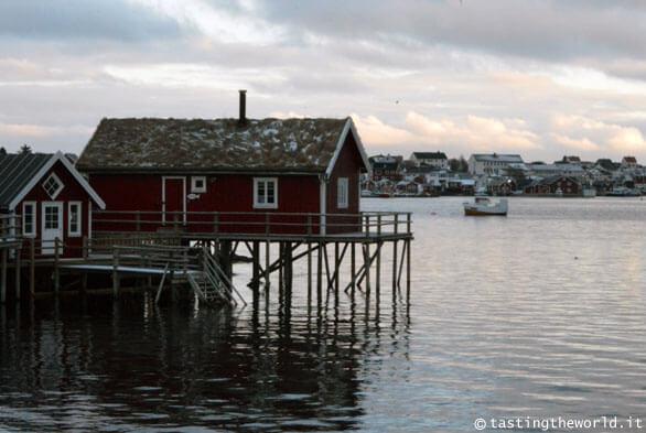 Rorbuer, Lofoten (Norvegia)