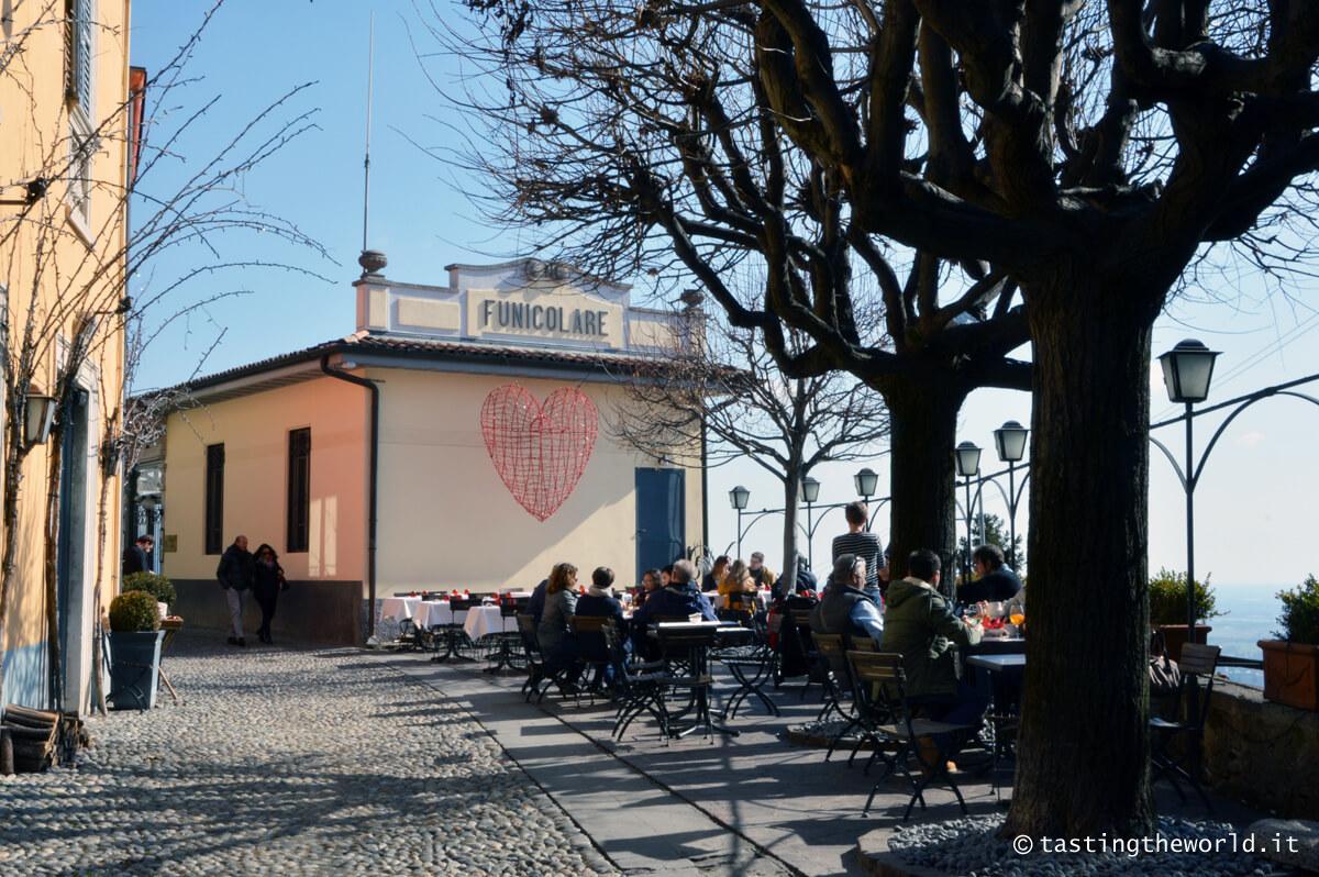Stazione della funicolare a San Vigilio, Bergamo
