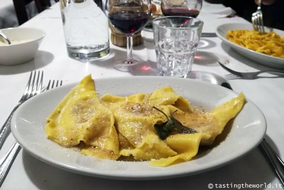 Casoncelli all'osteria Al Bianchi, Brescia