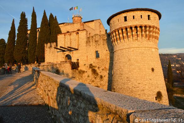Falcone d'Italia, il Castello di Brescia