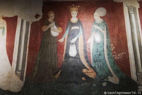 Castello di Masnago, Varese (Sala dei Vizi e delle Virtù)