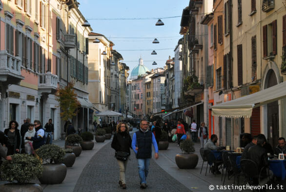 Il centro di Brescia