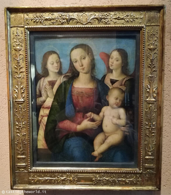 Museo Poldi Pezzoli, Milano - Madonna col Bambino e due Angeli del Perugino