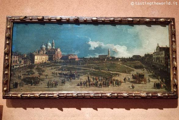Museo Poldi Pezzoli, Milano - Pra della Valle in Padova di Canaletto