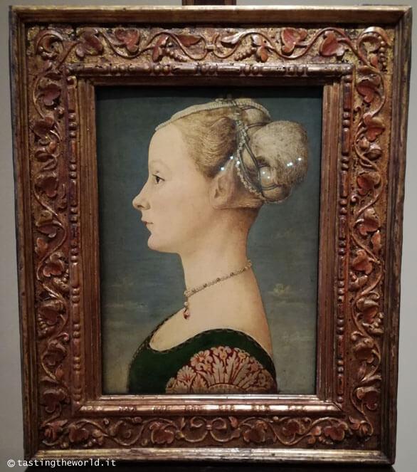 Museo Poldi Pezzoli, Milano - Ritratto di giovane dama, Piero del Pollaiolo