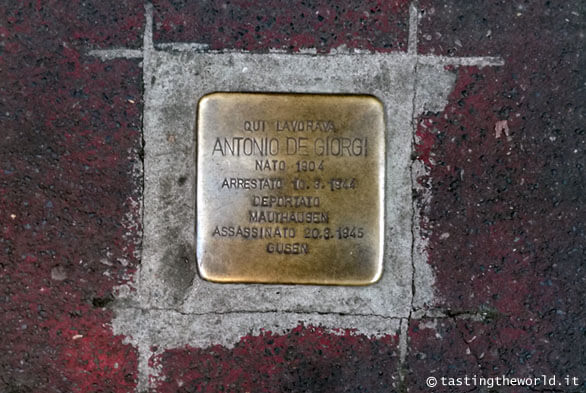 Pietre d'Inciampo Milano - Antonio De Giorgi