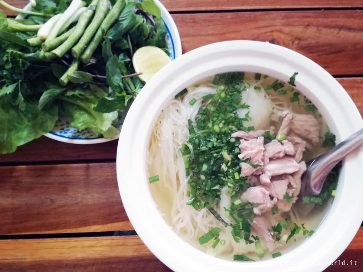 Zuppa di noodles, Vientiane (Laos)